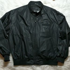 Members Only Black Jacket sz L